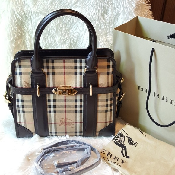 bfbc0d8de623 Brand New with Tag Burberry Satchel Bag